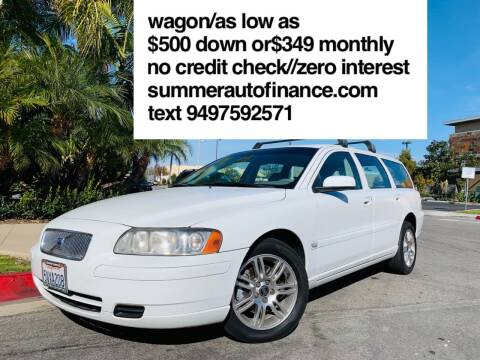 2006 Volvo V70 for sale at SUMMER AUTO FINANCE in Costa Mesa CA