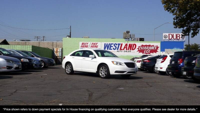 2011 Chrysler 200 for sale at Westland Auto Sales on 7th in Fresno CA