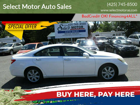 2007 Lexus ES 350 for sale at Select Motor Auto Sales in Lynnwood WA