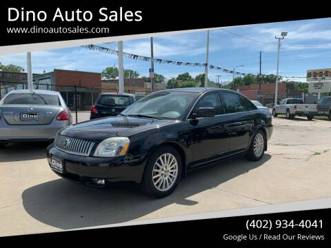 2007 Mercury Montego for sale at Dino Auto Sales in Omaha NE