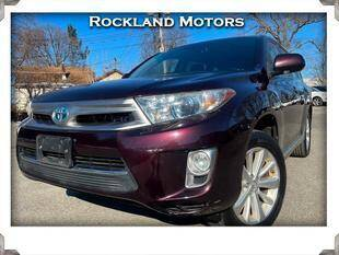 2013 Toyota Highlander Hybrid for sale at Rockland Automall - Rockland Motors in West Nyack NY