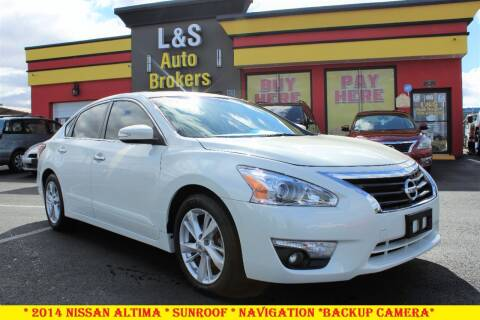 2014 Nissan Altima for sale at L & S AUTO BROKERS in Fredericksburg VA