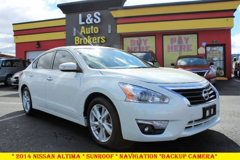 2014 Nissan Altima for sale at L & S AUTO BROKERS in Fredericksburg VA