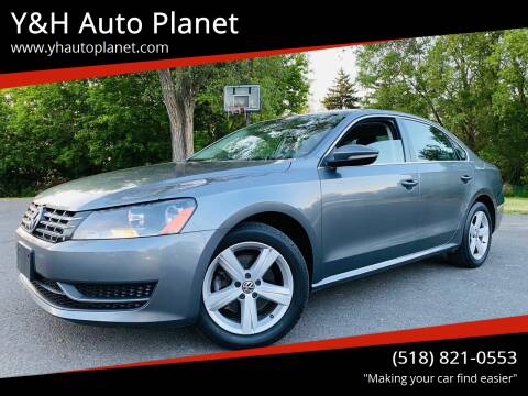 2012 Volkswagen Passat for sale at Y&H Auto Planet in West Sand Lake NY