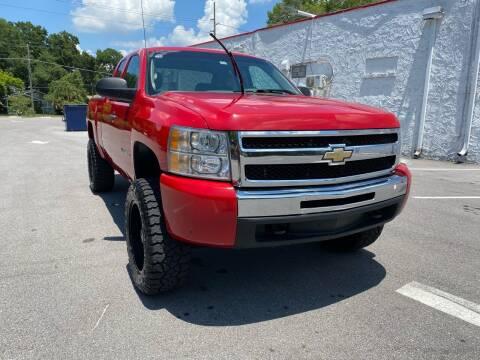 2012 Chevrolet Silverado 1500 for sale at LUXURY AUTO MALL in Tampa FL