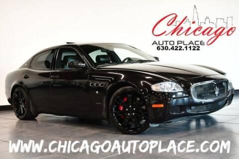 2008 Maserati Quattroporte for sale at Chicago Auto Place in Bensenville IL