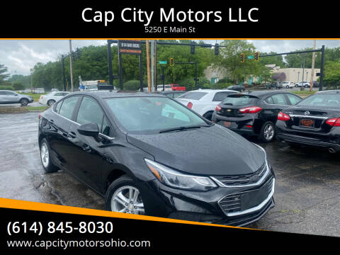 2017 Chevrolet Cruze for sale at Cap City Motors LLC in Columbus OH