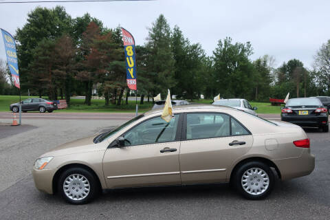 2005 Honda Accord for sale at GEG Automotive in Gilbertsville PA