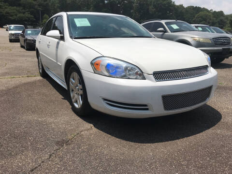 2016 Chevrolet Impala Limited for sale at Certified Motors LLC in Mableton GA