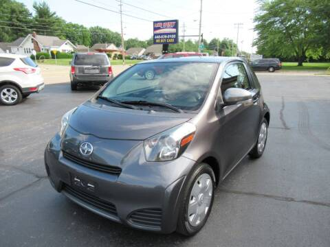 2013 Scion iQ for sale at Lake County Auto Sales in Painesville OH