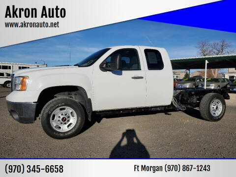 2011 GMC Sierra 2500HD for sale at Akron Auto in Akron CO