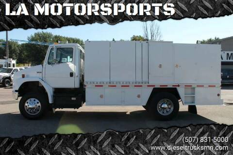 2001 Freightliner FL 70 for sale at LA MOTORSPORTS in Windom MN