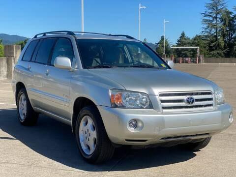 2005 Toyota Highlander for sale at Rave Auto Sales in Corvallis OR