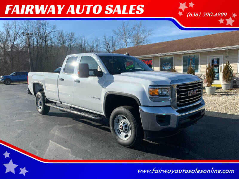 2017 GMC Sierra 2500HD for sale at FAIRWAY AUTO SALES in Washington MO