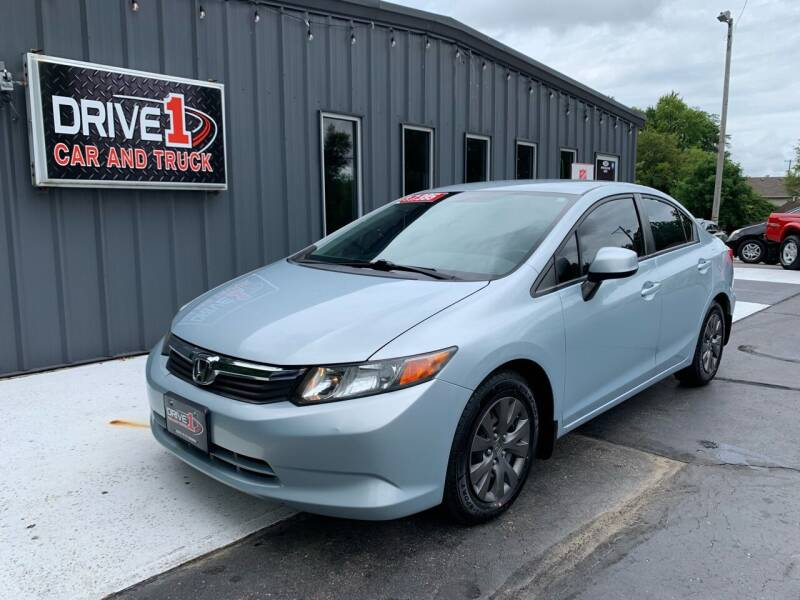 2012 Honda Civic for sale at Drive 1 Car & Truck in Springfield OH