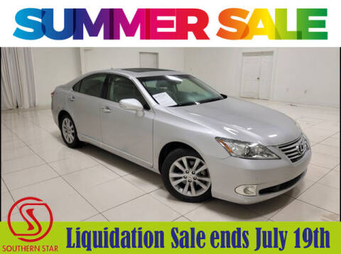 2011 Lexus ES 350 for sale at Southern Star Automotive, Inc. in Duluth GA