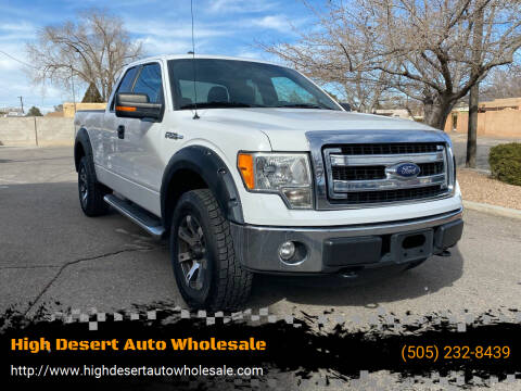 2014 Ford F-150 for sale at High Desert Auto Wholesale in Albuquerque NM
