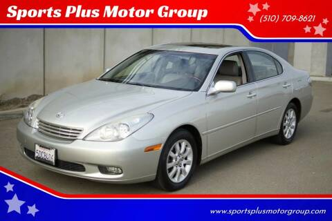 2003 Lexus ES 300 for sale at Sports Plus Motor Group LLC in Sunnyvale CA