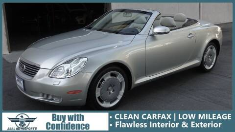 2002 Lexus SC 430 for sale at ASAL AUTOSPORTS in Corona CA