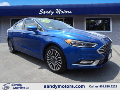 2017 Ford Fusion for sale at Sandy Motors Inc in Coventry RI