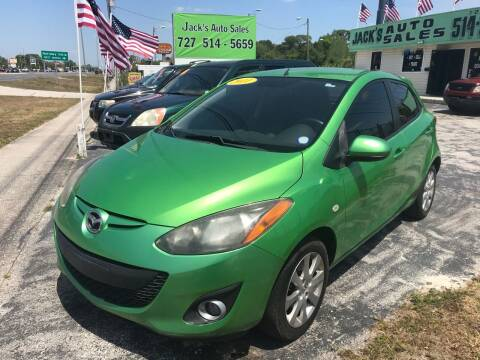 2011 Mazda MAZDA2 for sale at Jack's Auto Sales in Port Richey FL