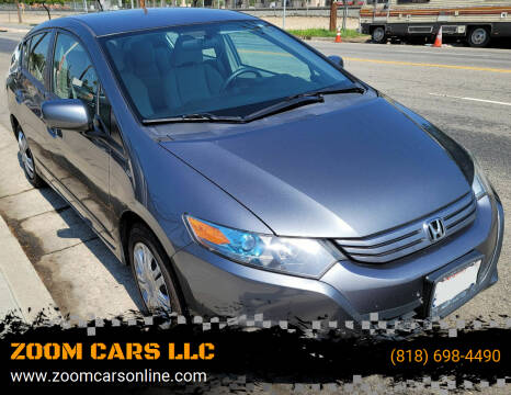 2011 Honda Insight for sale at ZOOM CARS LLC in Sylmar CA