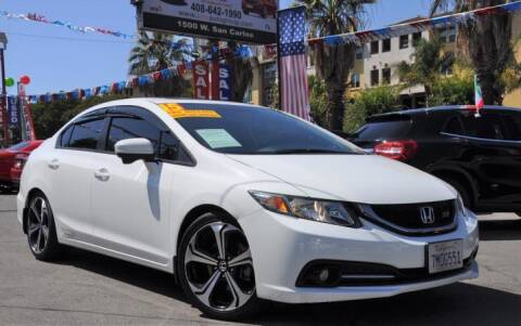 2015 Honda Civic for sale at AMC Auto Sales, Inc in San Jose CA
