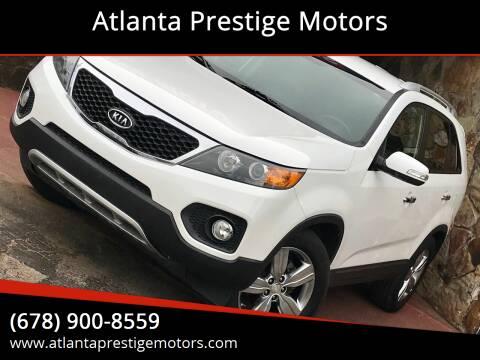 2013 Kia Sorento for sale at Atlanta Prestige Motors in Decatur GA