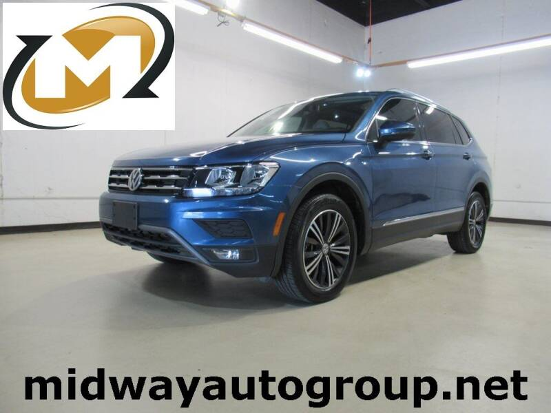 2018 Volkswagen Tiguan for sale at Midway Auto Group in Addison TX