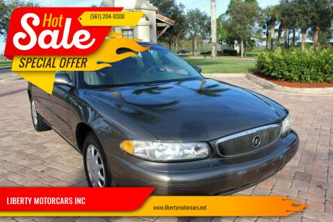 2003 Buick Century for sale at LIBERTY MOTORCARS INC in Royal Palm Beach FL