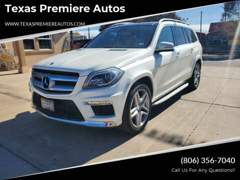 2013 Mercedes-Benz GL-Class for sale at Texas Premiere Autos in Amarillo TX