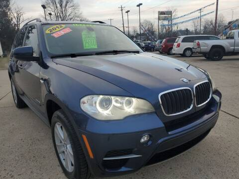 2012 BMW X5 for sale at Kachar's Used Cars Inc in Monroe MI