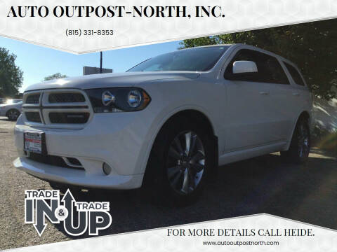 2011 Dodge Durango for sale at Auto Outpost-North, Inc. in McHenry IL