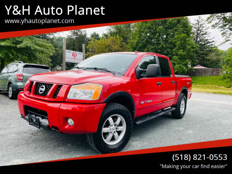2011 Nissan Titan for sale at Y&H Auto Planet in West Sand Lake NY