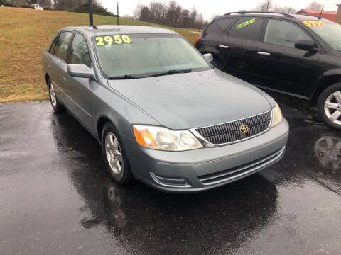 2000 Toyota Avalon for sale at Holland Auto Sales and Service, LLC in Somerset KY