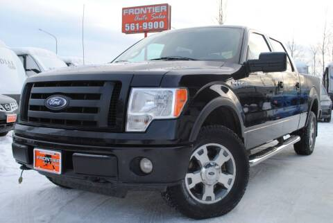 2010 Ford F-150 for sale at Frontier Auto & RV Sales in Anchorage AK