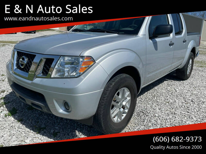 2017 Nissan Frontier for sale at E & N Auto Sales in London KY