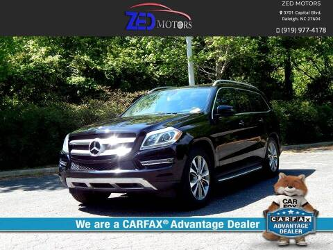 2013 Mercedes-Benz GL-Class for sale at Zed Motors in Raleigh NC