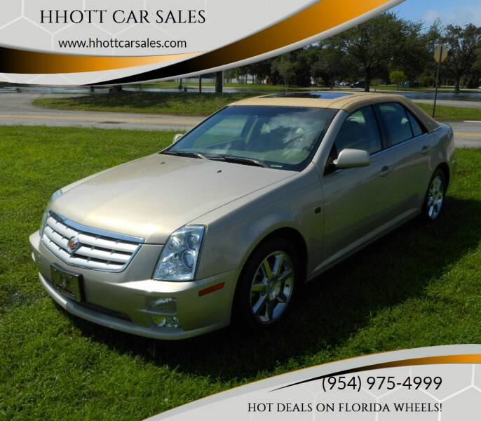 2007 Cadillac STS for sale at HHOTT CAR SALES in Deerfield Beach FL