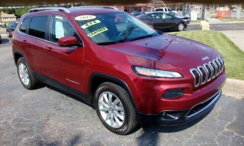 2015 Jeep Cherokee for sale at Jim Clark Auto World in Topeka KS