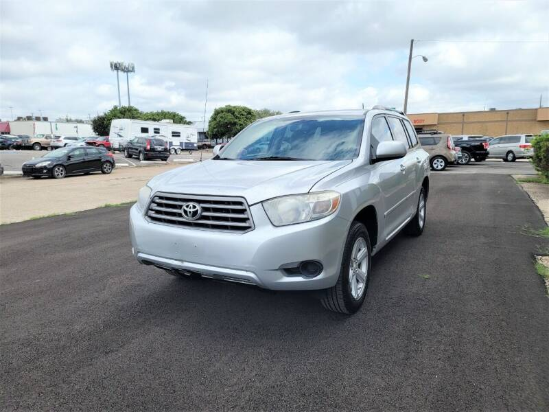 2010 Toyota Highlander for sale at Image Auto Sales in Dallas TX