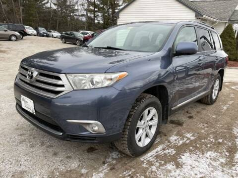 2013 Toyota Highlander for sale at Williston Economy Motors in Williston VT