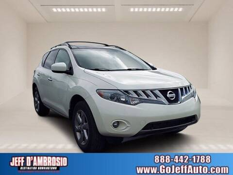 2009 Nissan Murano for sale at Jeff D'Ambrosio Auto Group in Downingtown PA