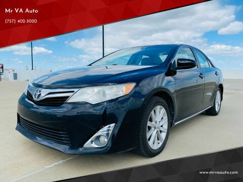 2012 Toyota Camry for sale at Mr VA Auto in Chesapeake VA