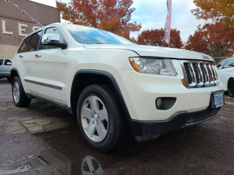 2012 Jeep Grand Cherokee for sale at Universal Auto Sales in Salem OR