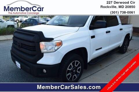 2014 Toyota Tundra for sale at MemberCar in Rockville MD