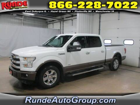 2016 Ford F-150 for sale at Runde Chevrolet in East Dubuque IL