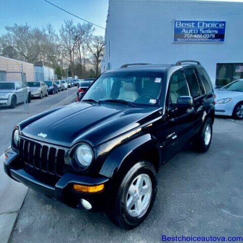 2004 Jeep Liberty for sale at Best Choice Auto Sales in Virginia Beach VA