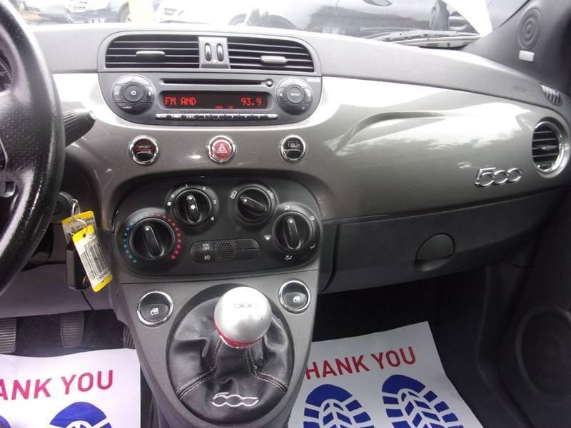 2012 FIAT 500 Sport 2dr Hatchback - Lanham MD