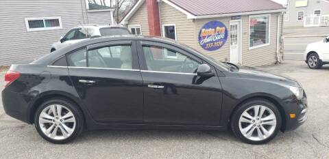 2015 Chevrolet Cruze for sale at Auto Pro Auto Sales-797 Sabattus St. in Lewiston ME